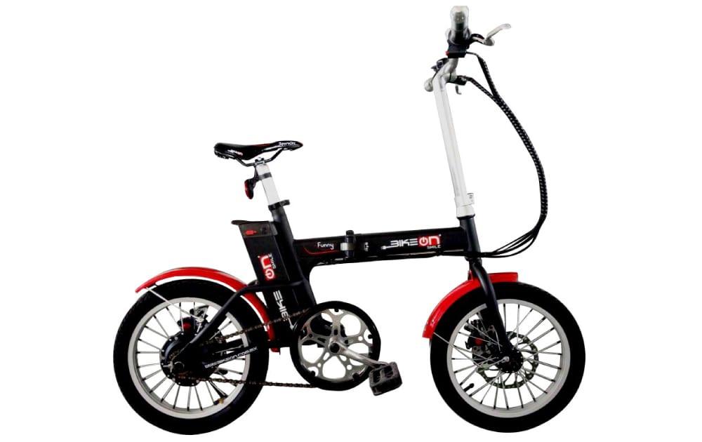 Bicicleta eléctrica modelo funny